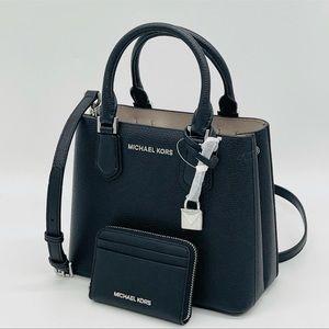 Michael Kors Medium Adele Messenger Bag&CardCaseWa